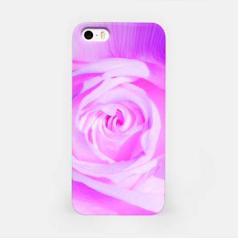 Thumbnail image of rose liquid violet iPhone Case, Live Heroes