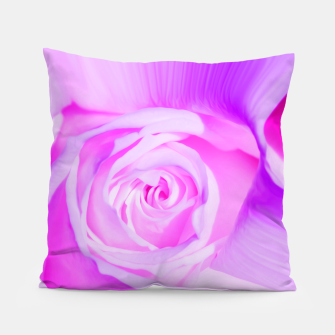 Thumbnail image of rose liquid violet Pillow, Live Heroes