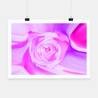 Thumbnail image of rose liquid violet Poster, Live Heroes