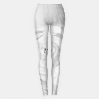 Miniaturka rose liquid white Leggings, Live Heroes