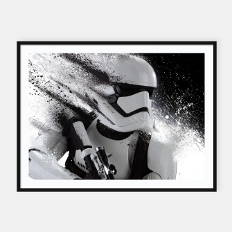 Thumbnail image of Star Wars - Stormtrooper Affiche et cadre, Live Heroes