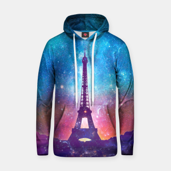 Eiffel Tower - Milky Way Collage Hoodie thumbnail image