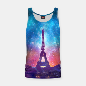 Eiffel Tower - Milky Way Collage Tank Top thumbnail image
