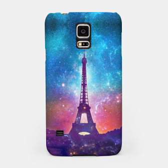 Eiffel Tower - Milky Way Collage Samsung Case thumbnail image
