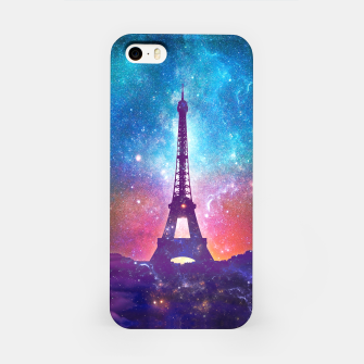 Eiffel Tower - Milky Way Collage iPhone Case thumbnail image