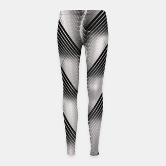 Thumbnail image of Channel Weave Girl's leggings, Live Heroes