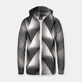 Thumbnail image of Channel Weave FV Zip up hoodie, Live Heroes