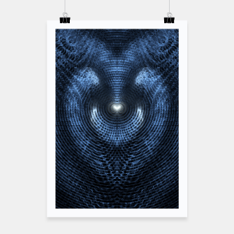 Thumbnail image of Spiral Galaxy Ring M1I225O0 Poster, Live Heroes