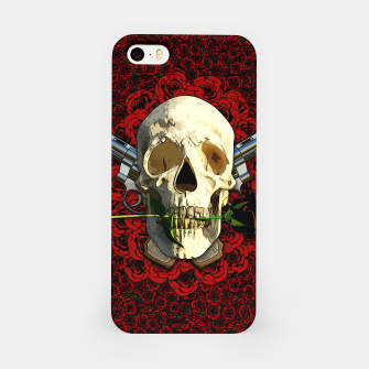 Miniaturka Skull and roses iPhone-Hülle, Live Heroes