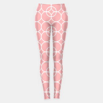 Miniaturka Abstract - pink and white. Leggings, Live Heroes