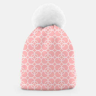 Imagen en miniatura de Abstract - pink and white. Beanie, Live Heroes