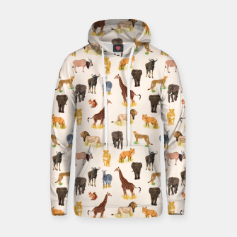 Thumbnail image of Safari Sightings Hoodie, Live Heroes