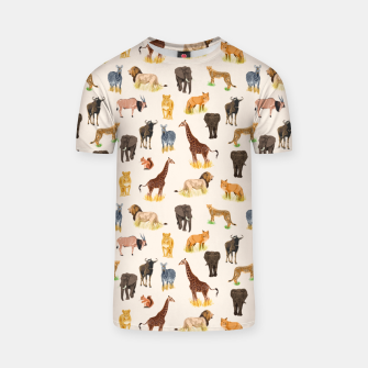 Imagen en miniatura de Safari Sightings T-shirt, Live Heroes