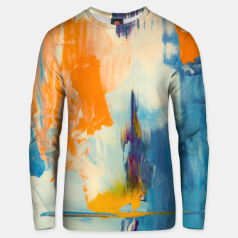 Thumbnail image of Abstract Patches Unisex sweater, Live Heroes