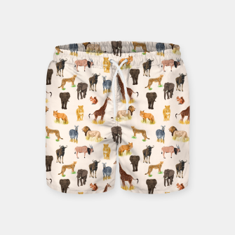 Imagen en miniatura de Safari Sightings Swim Shorts, Live Heroes