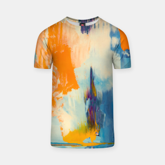 Thumbnail image of Abstract Patches T-shirt, Live Heroes