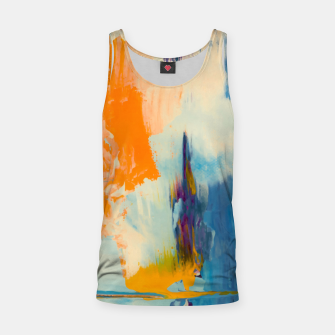 Miniatur Abstract Patches Tank Top, Live Heroes