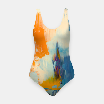 Miniatur Abstract Patches Swimsuit, Live Heroes