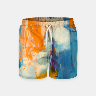 Miniatur Abstract Patches Swim Shorts, Live Heroes