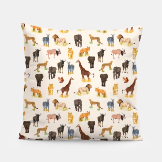 Imagen en miniatura de Safari Sightings Pillow, Live Heroes