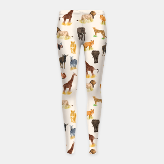 Imagen en miniatura de Safari Sightings Girl's leggings, Live Heroes