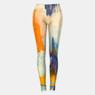 Miniatur Abstract Patches Leggings, Live Heroes