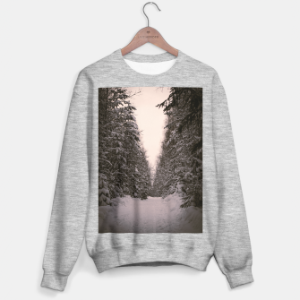 Thumbnail image of Snowy road Sweater regular, Live Heroes