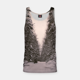 Thumbnail image of Snowy road Tank Top, Live Heroes