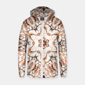 Future Abstract Zip up hoodie thumbnail image