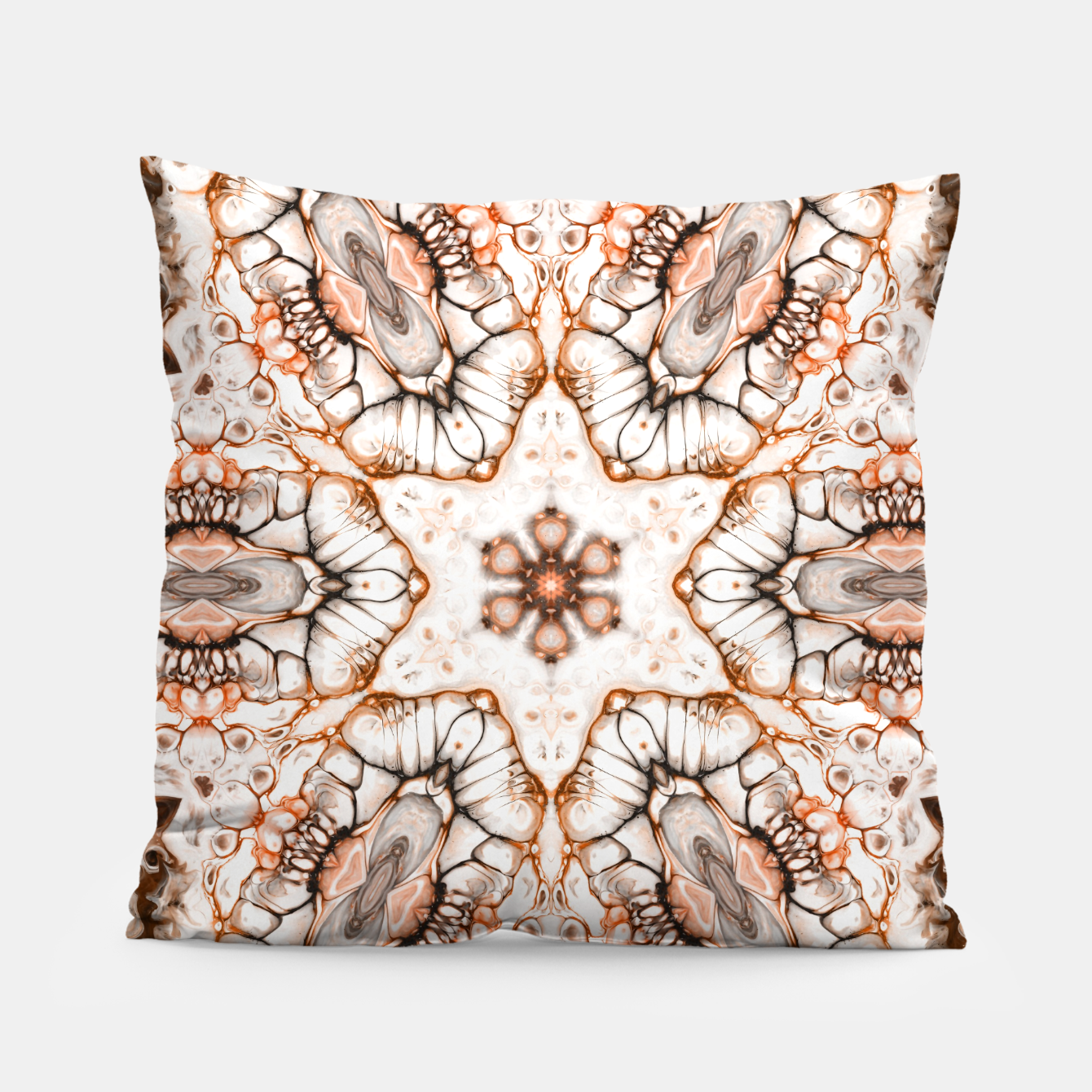 Image of Future Abstract Pillow - Live Heroes