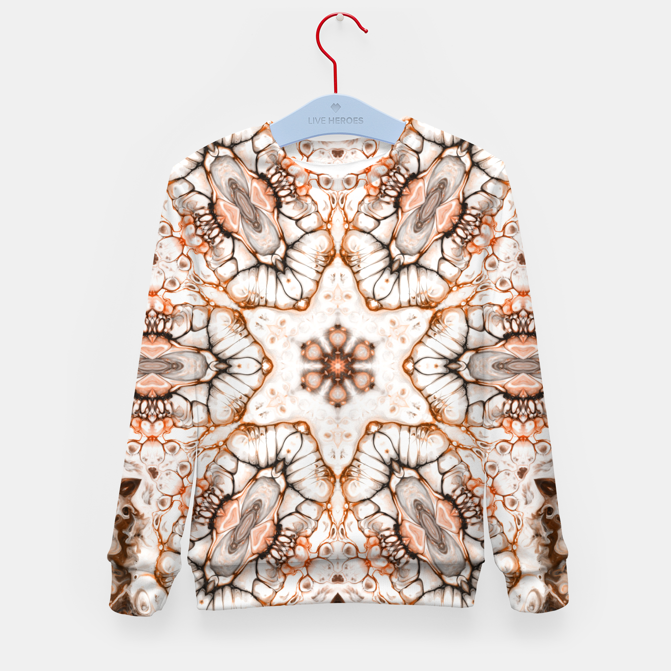 Image of Future Abstract Kid's sweater - Live Heroes