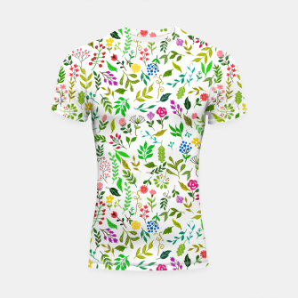 Thumbnail image of Spring Is Here Shortsleeve rashguard, Live Heroes