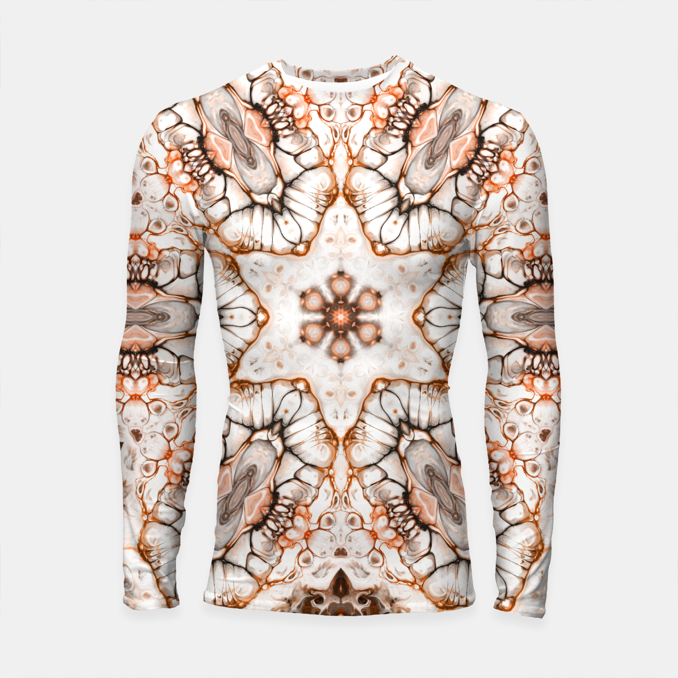 Image of Future Abstract Longsleeve rashguard  - Live Heroes