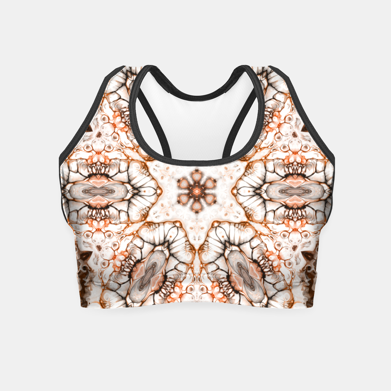 Image of Future Abstract Crop Top - Live Heroes