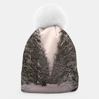 Thumbnail image of Snowy road Beanie, Live Heroes
