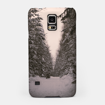 Thumbnail image of Snowy road Samsung Case, Live Heroes