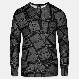 Thumbnail image of Literary Overload II book lovers pattern Unisex sweater, Live Heroes