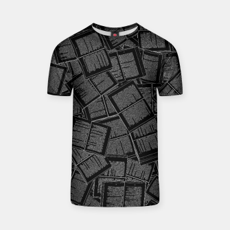 Thumbnail image of Literary Overload II book lovers pattern T-shirt, Live Heroes