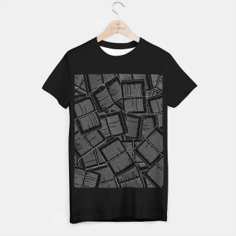 Thumbnail image of Literary Overload II book lovers pattern T-shirt regular, Live Heroes