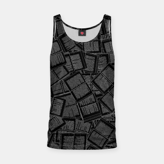 Thumbnail image of Literary Overload II book lovers pattern Tank Top, Live Heroes
