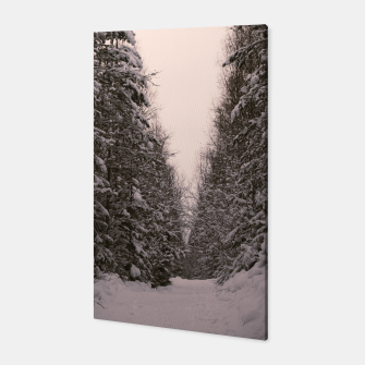 Thumbnail image of Snowy road Canvas, Live Heroes