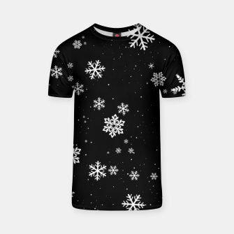 Thumbnail image of Snowflakes T-shirt, Live Heroes
