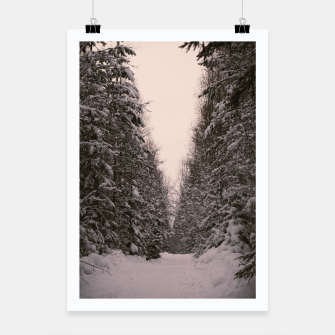 Thumbnail image of Snowy road Poster, Live Heroes