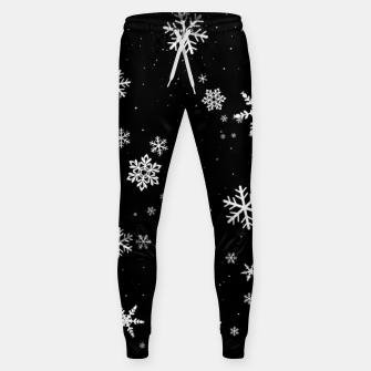 Thumbnail image of Snowflakes Sweatpants, Live Heroes