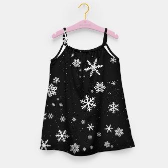 Miniaturka Snowflakes Girl's dress, Live Heroes