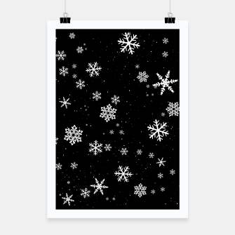 Thumbnail image of Snowflakes Poster, Live Heroes