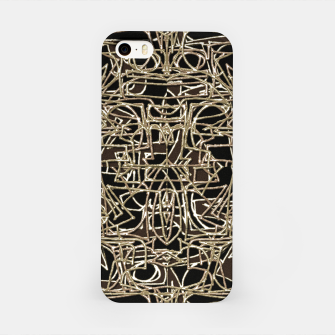 Miniatur Modern Abstract Print iPhone Case, Live Heroes
