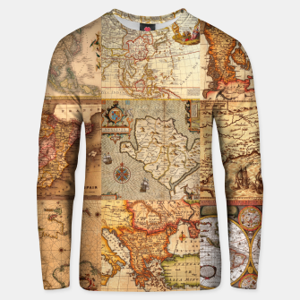 Old maps Unisex sweater thumbnail image
