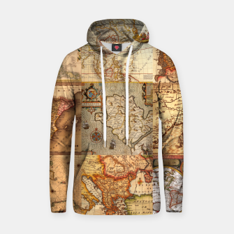 Thumbnail image of Old maps Hoodie, Live Heroes