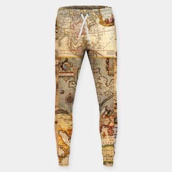 Miniaturka Old maps Sweatpants, Live Heroes